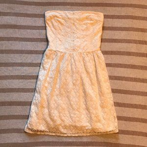 Abercrombie & Fitch Sleeveless Lace Summer Dress